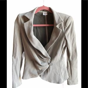 ✨Armani Collezioni Blazer Gray Sz 8